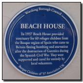 Beach House, Worthing, West Sussex - May 2007 [Rededicated January 2019]
